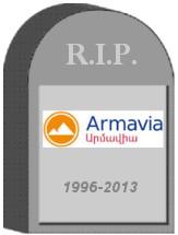 Armavia Shut Down