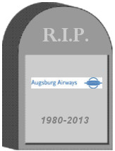 Augsburg Airways Shut Down