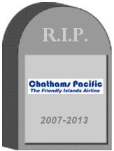 Chathams Pacific Shut Down