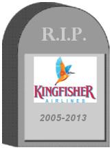 Kingfisher Airlines Shut Down