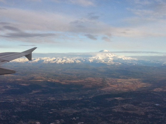 Mountains Arriving Seattle