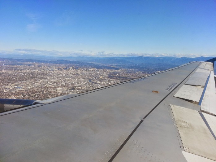 Arriving at LAX