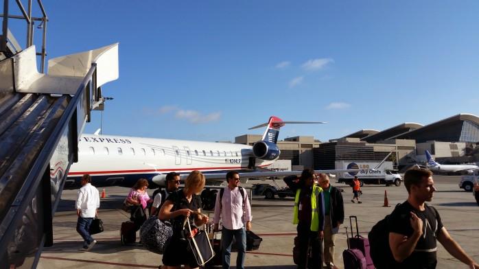 US Airways LAX Terminal 3