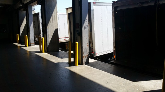 LAX Cargo Loading Dock