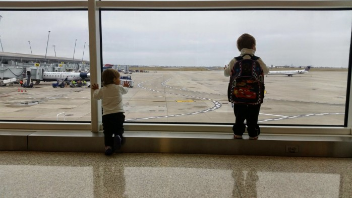 Plane Watching Indianapolis