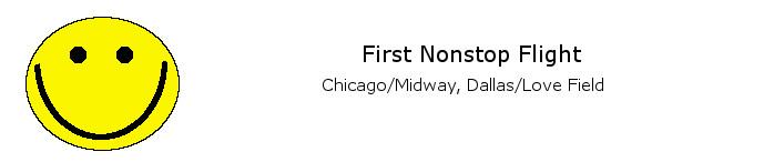 First Nonstop DCA