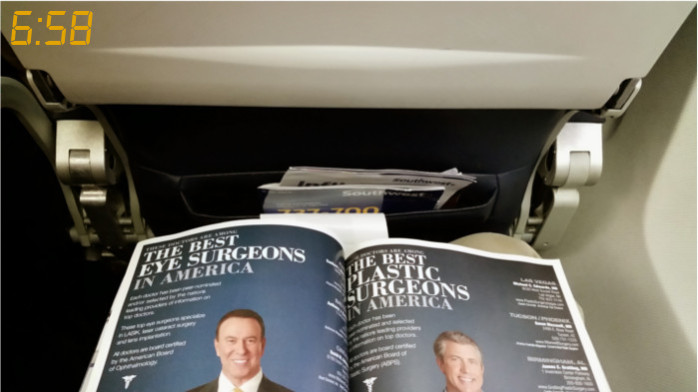 Browsing the Southwest Inflight Mag