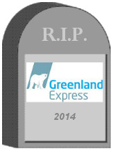 Greenland Express Tombstone