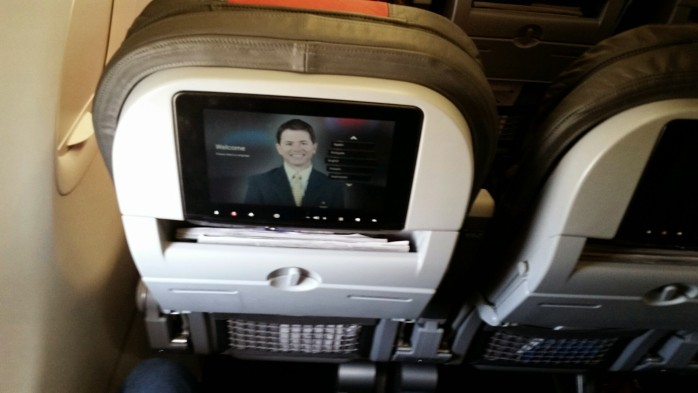 American 321 In Seat Video