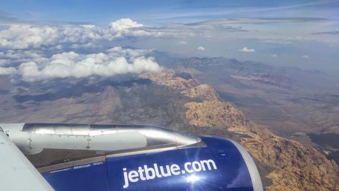 JetBlue into Las Vegas