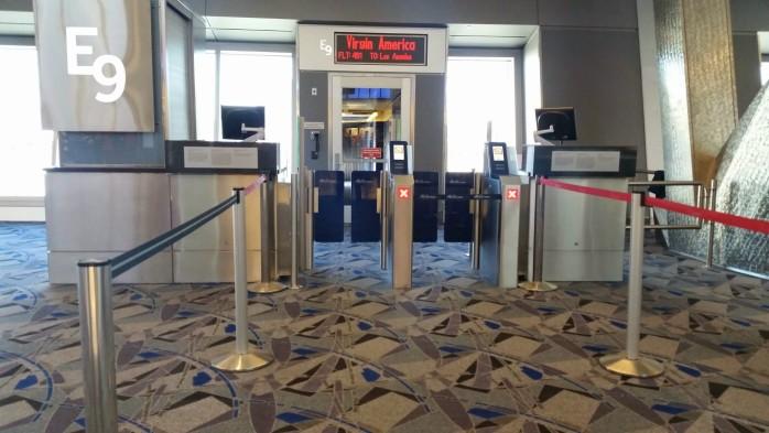 Las Vegas E9 Boarding Gate