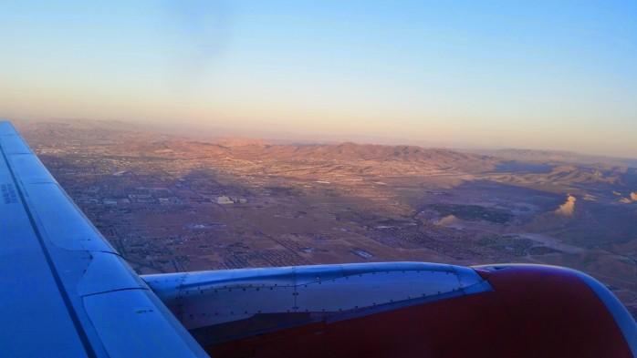 Virgin America Departing Vegas