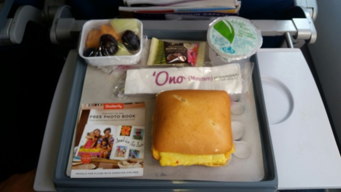 Hawaiian Breakfast on A330
