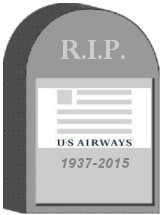 US Airways Tombstone