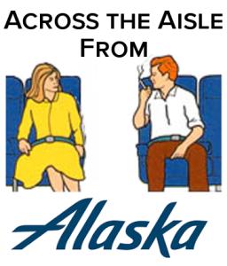 Alaska Airlines Across the Aisle