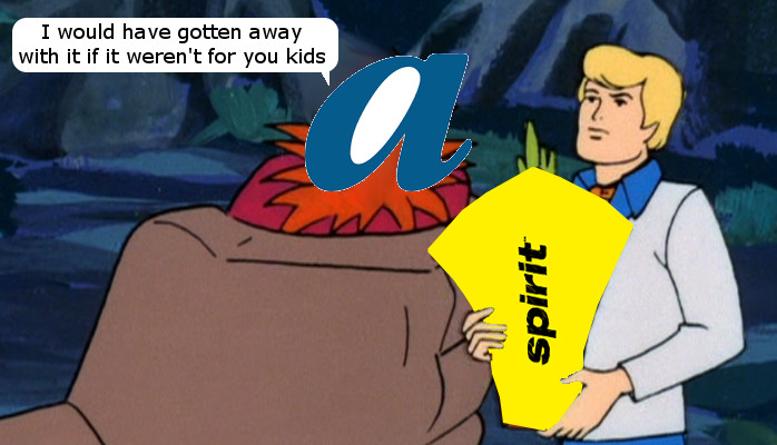 AirTran Spirit Scooby Doo