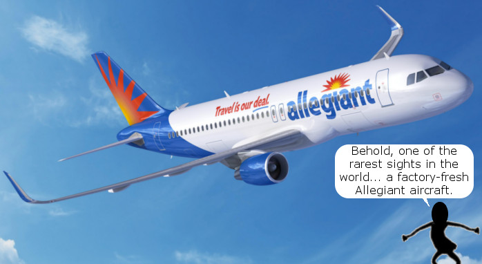 Allegiant Orders New Airplanes