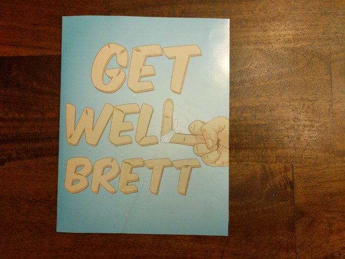 AA Get Well Card