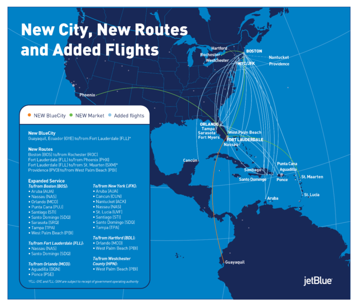 JetBlue Follows the Numbers