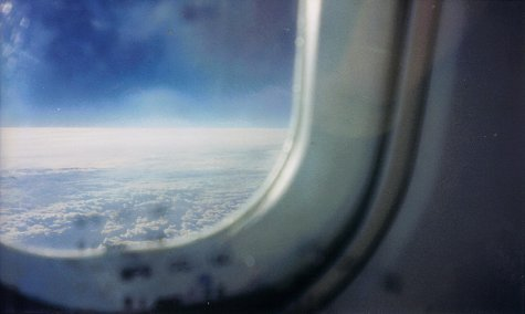 Concorde Window View at 55000 Feet