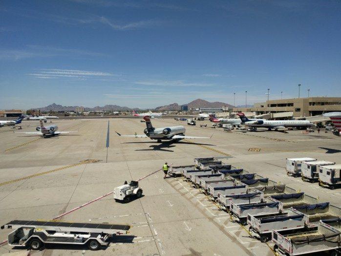 US Airways Tails in Phoenix