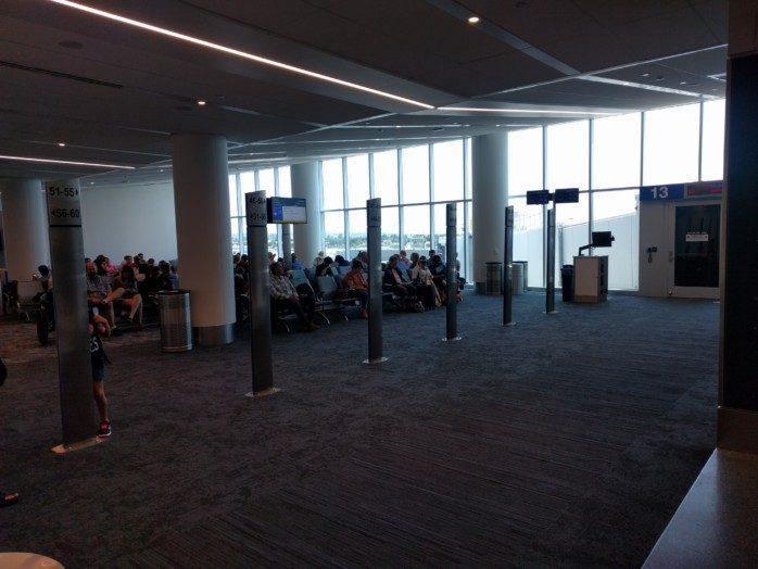 LAX Terminal 1 New Gate 13