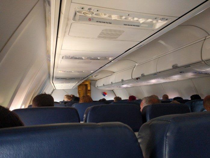 Southwest 737 Old Interior