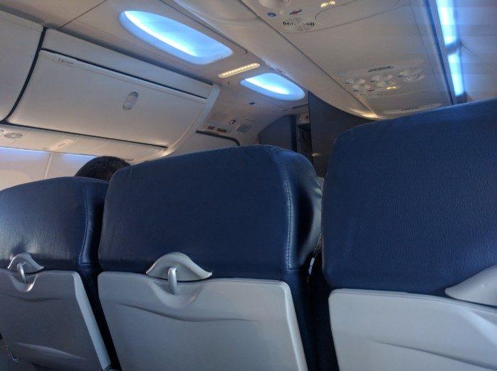 Southwest 737-800 Sky Interior