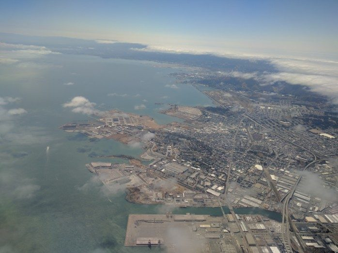 Flying Out of Oakland